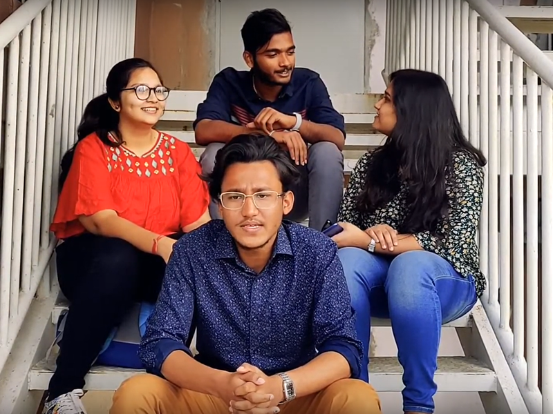 admission video poster